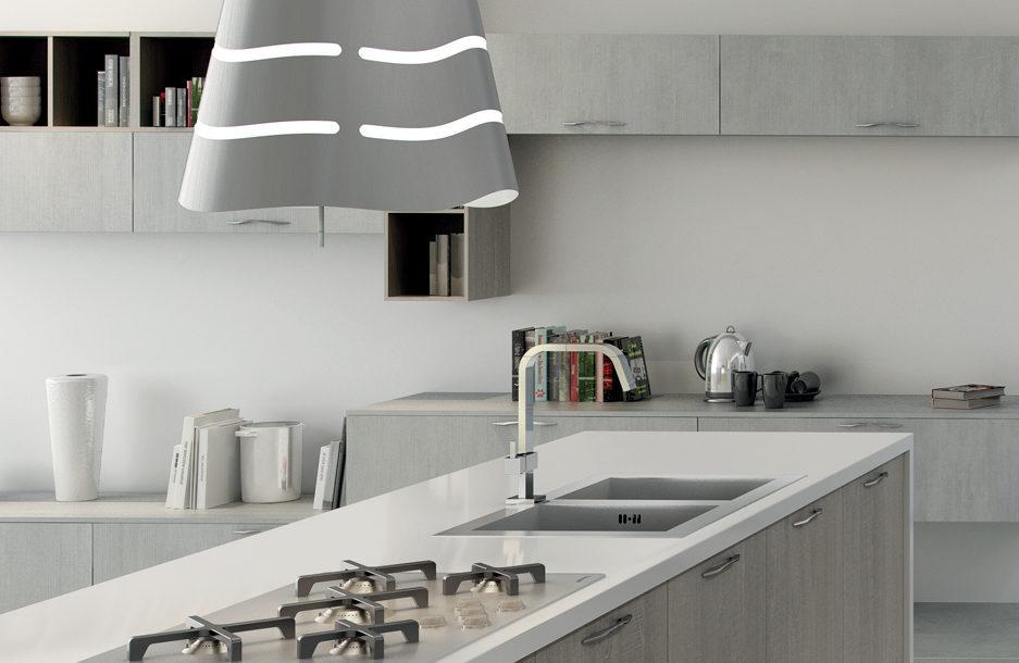 composizione sei cucina moderna collezione kreativa sanasi cucine brindisi dubai san pancrazio salentino lecce