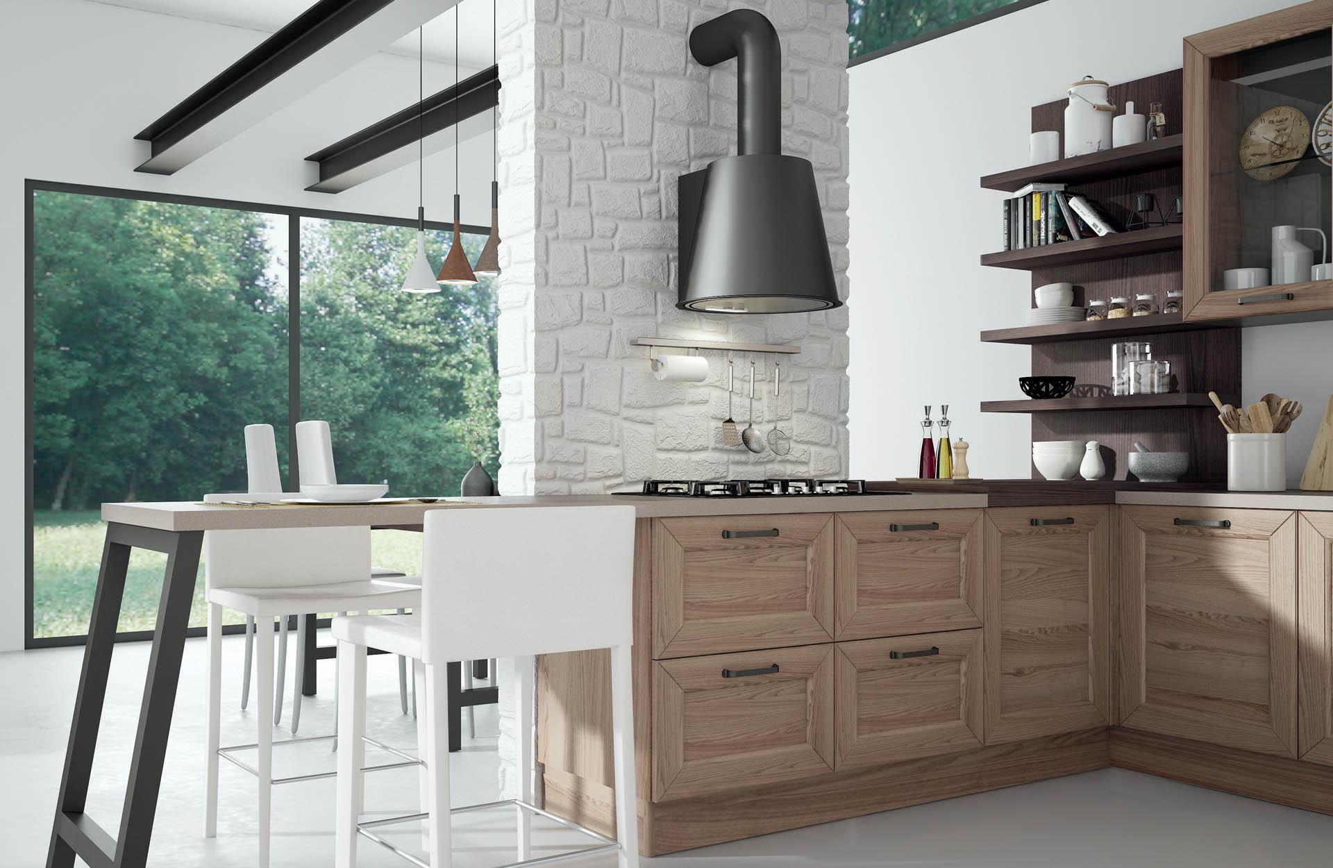 I tipi di legno per i mobili della cucina sanasi cucine for Tipi di arredamento