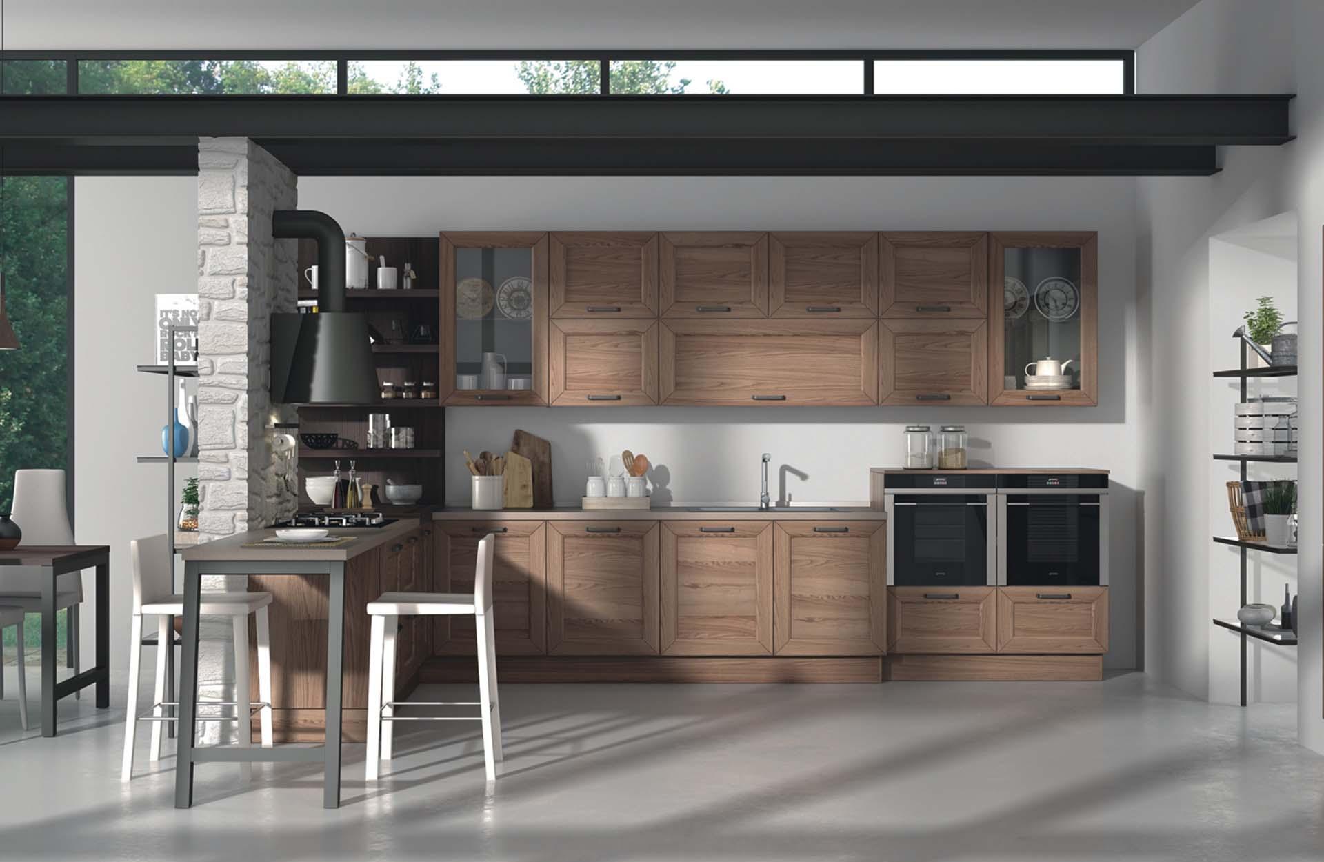 cucine arredo su misura legno