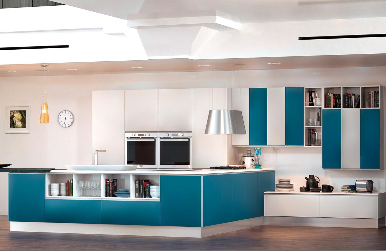 Caratteristiche e colori per una cucina moderna - Sanasi Cucine