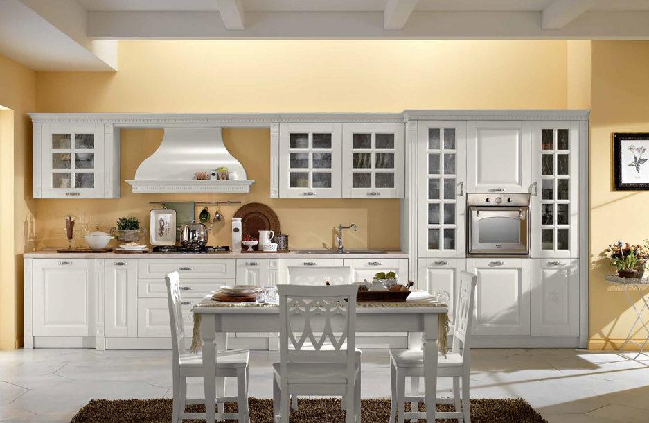cucina classica bianca sanasi borgo salento san pancrazio lecce dubai brindisi