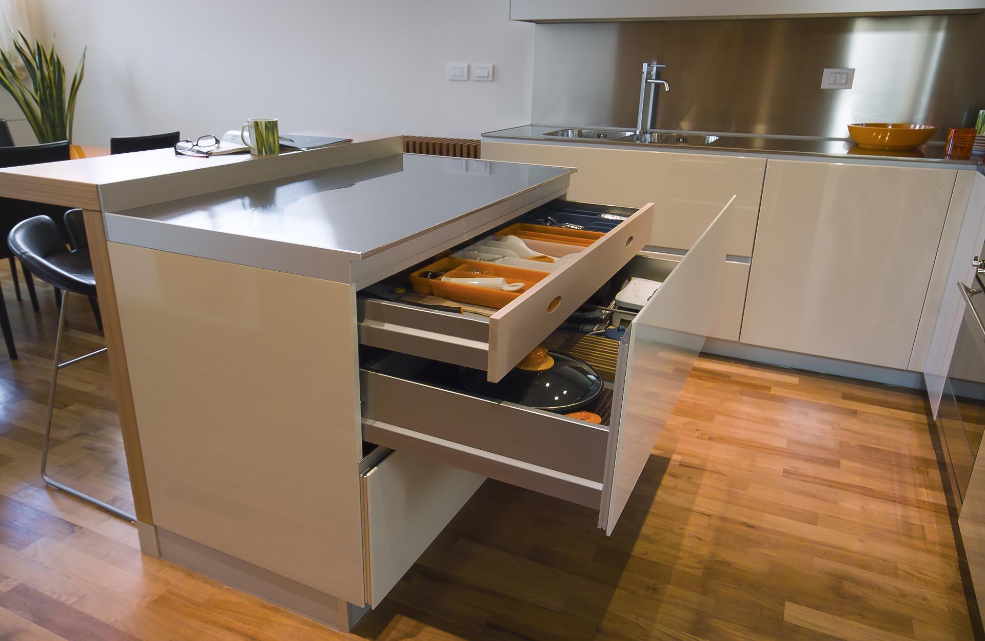 Organizzare Interno Mobili Cucina come organizzare gli spazi in cucina - sanasi cucine