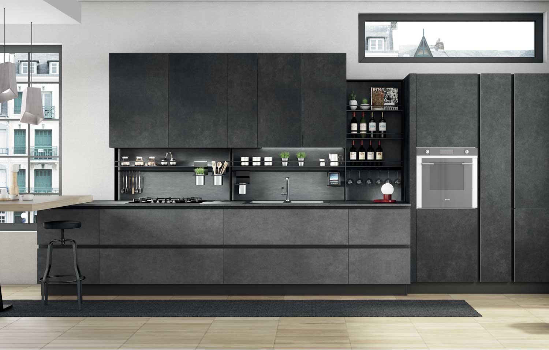 cucina-tinte-scure-Sanasi
