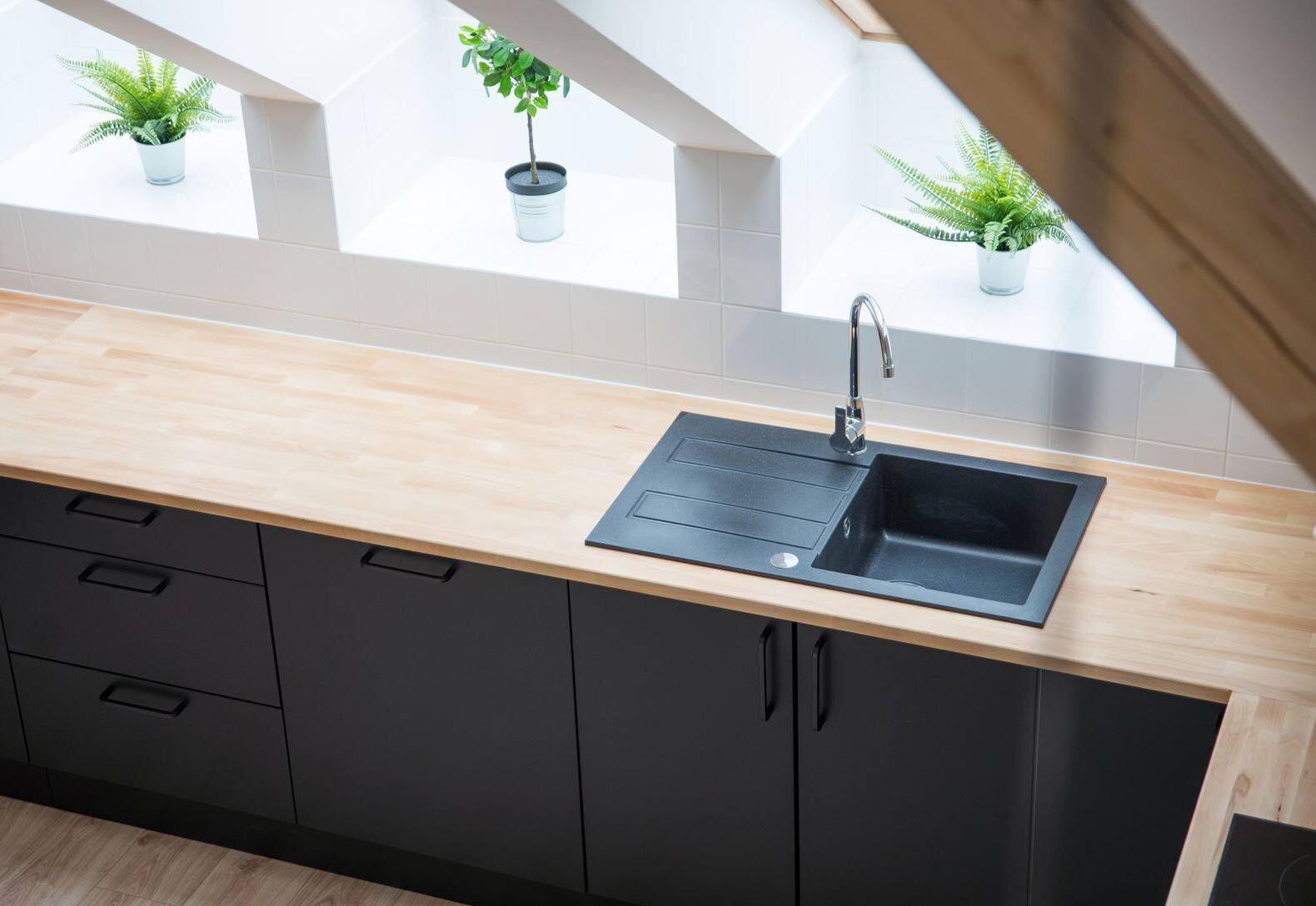 lavello cucina con o senza gocciolatoio Lecce